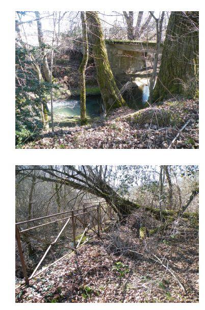 Le pont abandonné de Montcuq